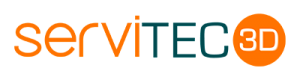 Nuevo logotipo Servitec3D
