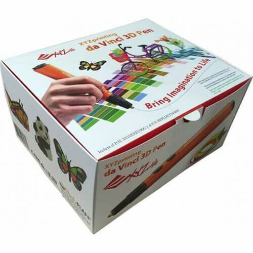 Lapiz 3d xyz daVinci printing box