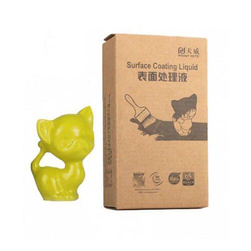recubrimiento colido amarillo 60ml para artículos impresos en 3D