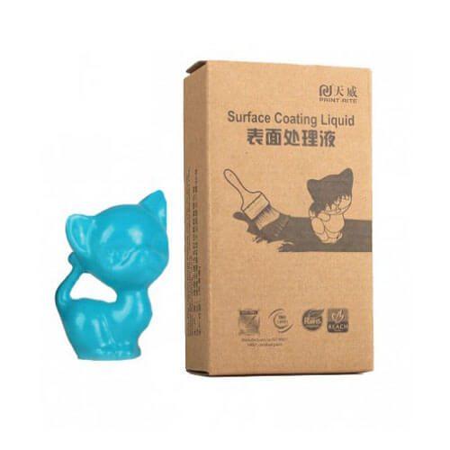 recubrimiento colido azul perla 60ml para artículos impresos en 3D