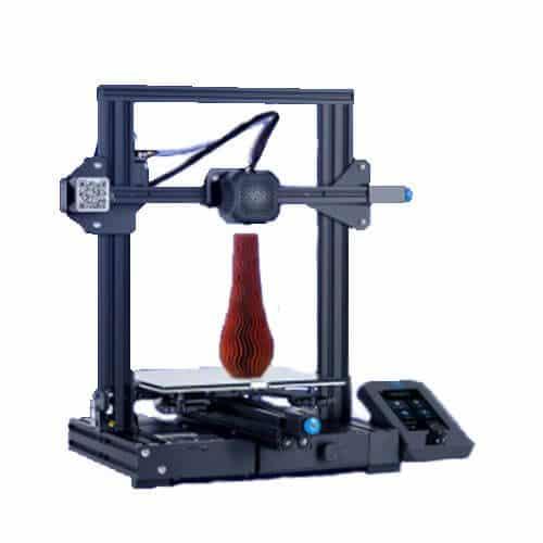 Impresora 3D Creality ender 3 V2 Lateral Izquierdo