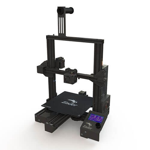Impresora 3D creality ender 3 pro Vista Superior
