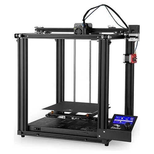 Impresora 3D Creality Ender 5 pro frontal derecho