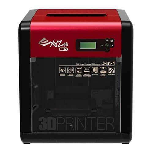 Impresora 3D da Vinci Pro 3 en 1 frontal