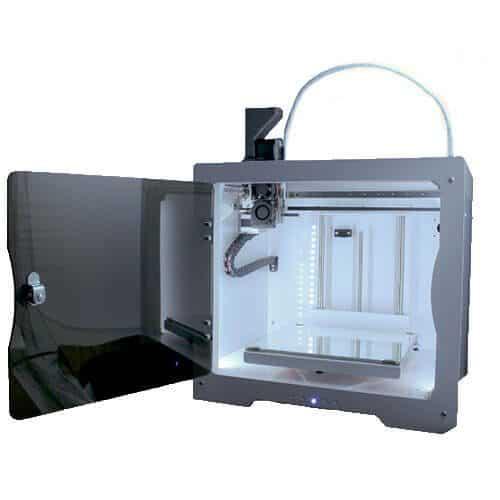 impresora 3d colido tumaker NX+ Pellets lateral puerta abierta