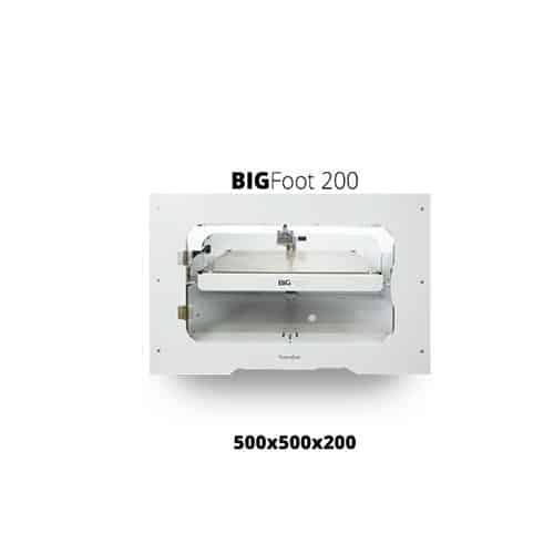 impresora 3d tumaker bigfoot 200 tamaño