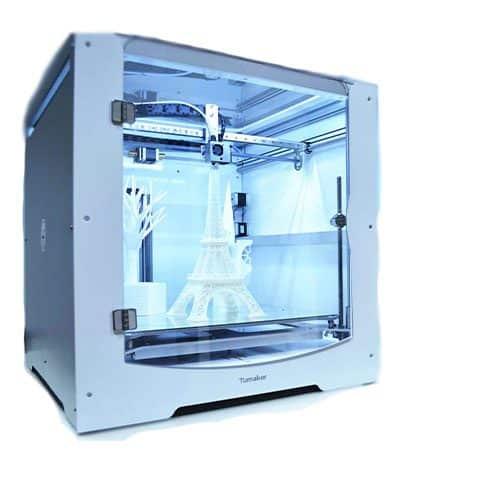 imagen lateral de la impresora 3D Tumaker bigfoot 500