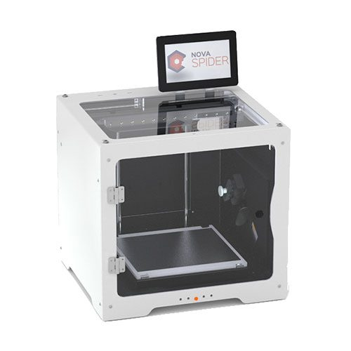 impresora 3d tumaker novaspider lateral izquierdo