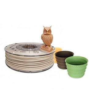 servicios de impresion 3d filamento madera