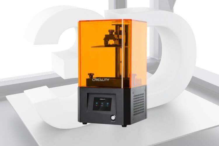 Tipo impresora 3D DLP
