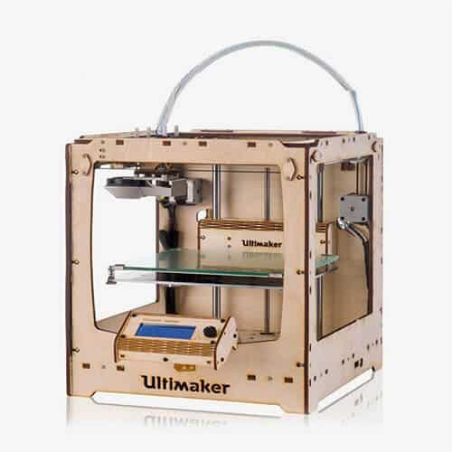 Impresora Ultimaker Original+ Vista Lateral Derecho