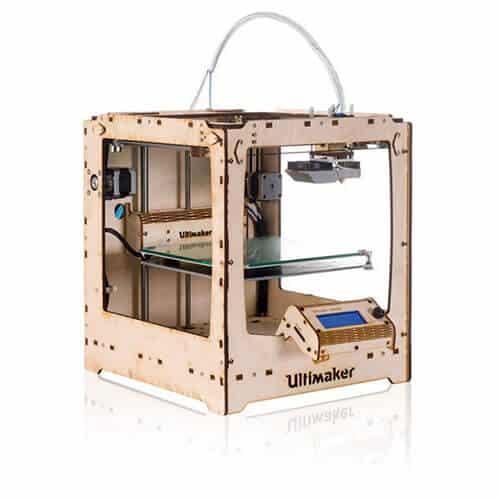 Impresora Ultimaker Original+ Vista Lateral Izquierdo