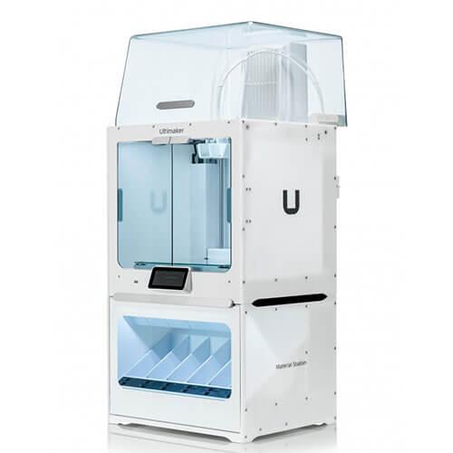 Impresora Ultimaker S5 Pro Bundle (EU) Vista del Lateral derecho