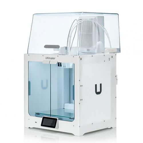 Impresora Ultimaker S5 Pro Bundle (EU) Vista Lateral Derecho parte superior