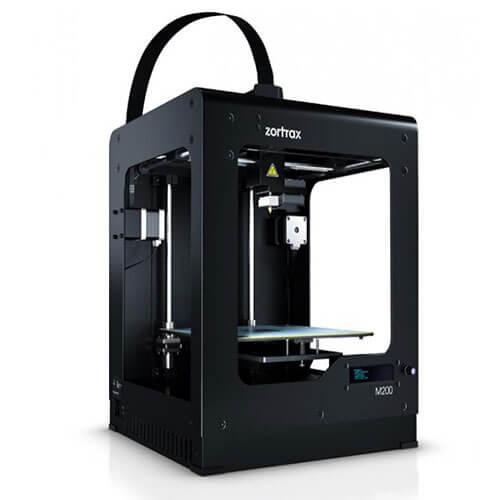 Impresora Zortrax M200 plus Vista Lateral Izquierdo
