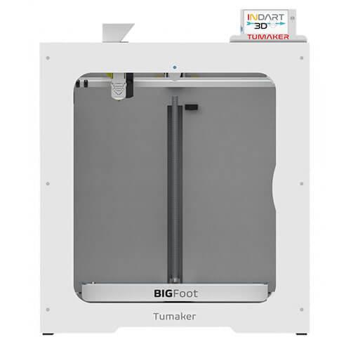 Impresora 3D Tumaker BIGFoot pro pellets 500