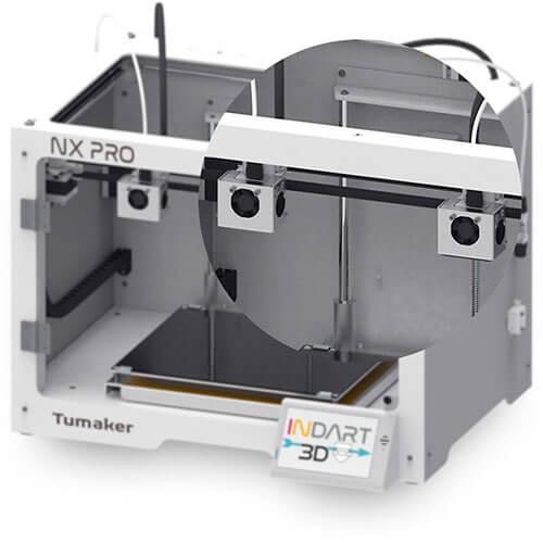 Tumaker NX Pro DUAL Frontal Doble Cabezal