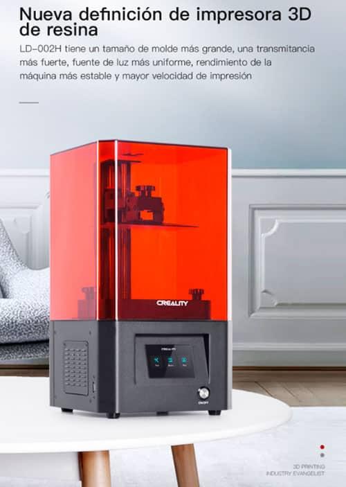 Impresora 3d LD-002H resina