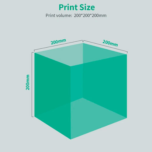 Volumen impresión CR200B
